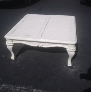 "large square coffee table 38""x38"""