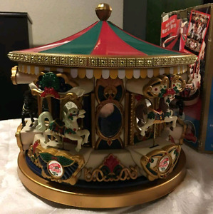 Christmas Carousel- Collectors dream
