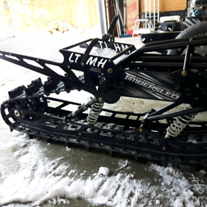 2015 timbersled long track 137 new condition