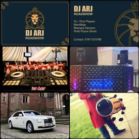 DHOL PLAYERS / DJ / BANDBAJA / WEDDING CAR HIRE