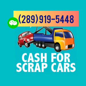 Ca$h 4 Scrap Cars Text (289) 919-5448 for Quote