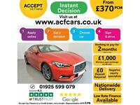 2018 RED INFINTI Q60 2.0T S SPORT PETROL 2DR AUTO COUPE CAR FINANCE FR £370 PCM