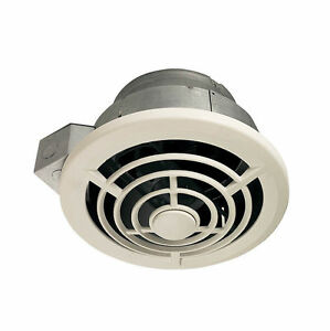 Bathroom ceiling fan ebay nutone 8210 210cfm round ceiling fan aloadofball Images