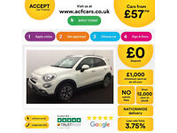 Fiat 500X Cross FROM £57 PER WEEK!
