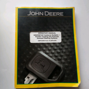 John Deere Greenstar Parallel Tracking AutoTrac GPS Steer Manual