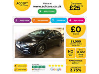HONDA CIVIC 1.4 1.6 1.8 2.2 I-VTEC ES-T SI TI SE PLUS SPORT SR FROM £25 PER WEEK