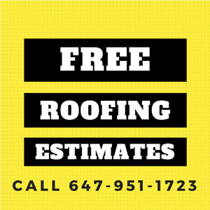 Need Residential Roofing in Toronto? Call 647-951-1723 Now!
