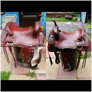 "17"" Reinsman X Series Cutting Saddle"