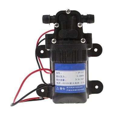 Dc 12v 3.5lmin 0.48mpa 70 Psi Diaphragm High Pressure Self Priming Water Pump