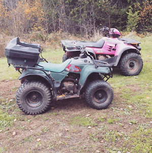 Looking to trade for smaller atv