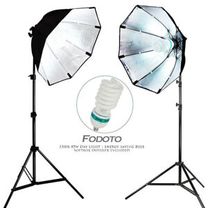 850w Photo Video Continuous Softbox Lighting Kit