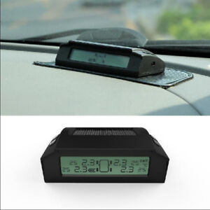 Tire Pressure and Temp Monitoring system Remote wireless Solar