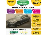 2015 GREY VW PASSAT 2.0 TDI 150 GT DSG DIESEL AUTO SALOON CAR FINANCE FR £37 PW