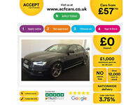 Audi A4 Black Edition FROM £57 PER WEEK!