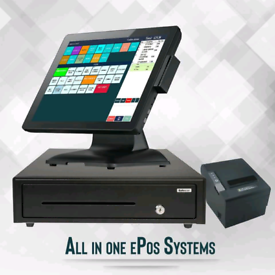 COMPLETE EPOS/ POS TILL SYSTEM (Strong Metal Based)