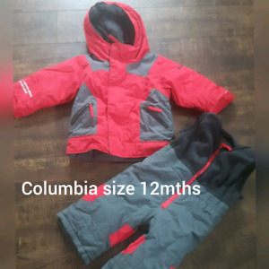 Snowsuit 12 mths columbia