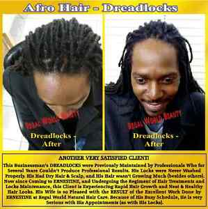 DREADLOCKS -NEW START UP, ADD EXTENSIONS, MENTAINANCE & REPAIRS