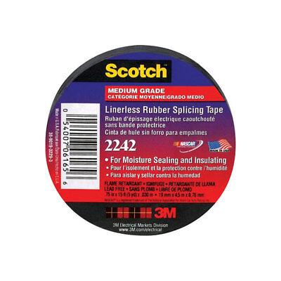 3m Scotch 34 In. W X 15 Ft. L Black Rubber Electrical Tape