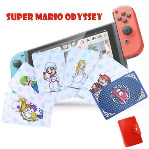 mario odyssey amiibo nfc card set switch
