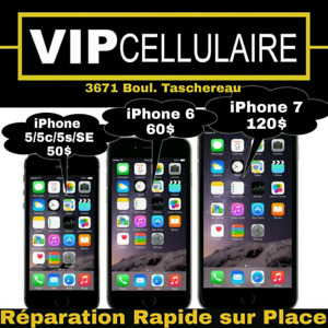 reparation sur place / iphone / samsung/ lg