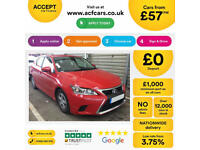 Lexus CT 200h FROM £57 PER WEEK!