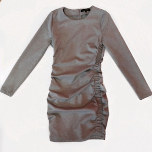 Dynamite Ruched Bodycon Dress, Size Small