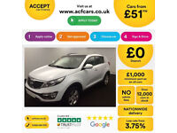 Kia Sportage FROM £51 PER WEEK!