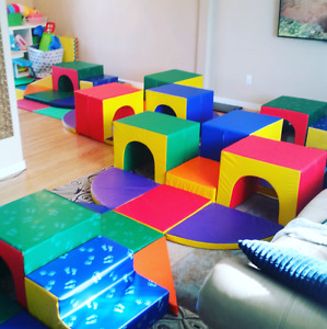Kids soft zone play sets