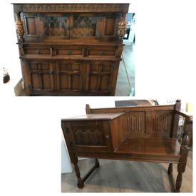 Sideboard and telephone table seat