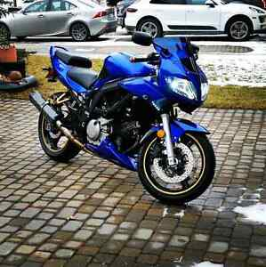 Sv650 low km and maintained well