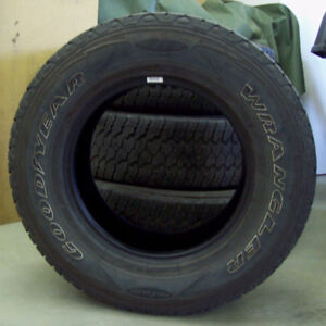 Tires Used Good Year Wrangler ProGrade