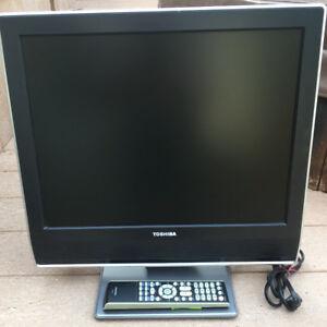 "Toshiba 20"" LCD TV"