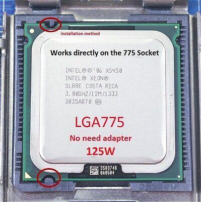 Intel Xeon X5450 3GHz_LGA775_125W Quad-Core Processor no adapter + thermal paste
