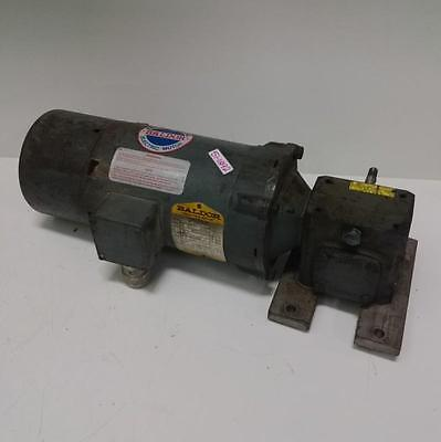 Baldor 14hp 1725rpm Electric Motor Kb3454 W Boston Gear Reducer F713-30-b5-g