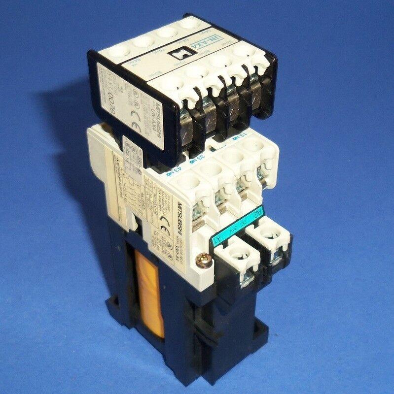 MITSUBISHI ELECTRIC 24VDC COIL CONTACTOR RELAY SRD-N8