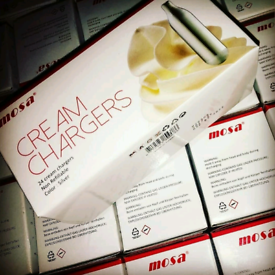 MOSA* CREAM CHARGER FOR BEST WHIPPED CREAM