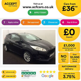 Ford Fiesta Sport FROM £36 PER WEEK!