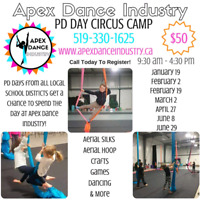 PD DAY CAMPS AT APEX DANCE INDUSTRY