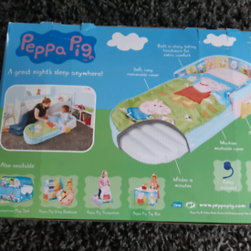 Peppa pig ready bed - still boxed never used