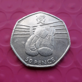 Boxing - Olympics 50p coin