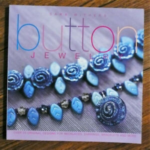 BUTTON JEWELRY Pattern Book - Sara Withers  REASONABLE OFFERS?