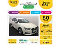 Audi A3 Sport FROM £51 PER WEEK!