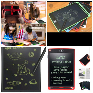 Gift idea- educational Lcd writing and drawing tablets for kids