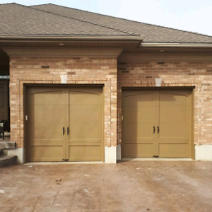 Need your garage doors painted? Custom sign or accent wall? & Garage | Painters u0026 Painting Services in Kitchener / Waterloo ...