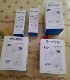 5 Led bulbs