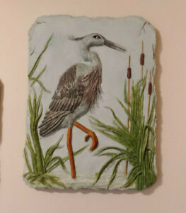 Decorative Wildlife Wall Plaques