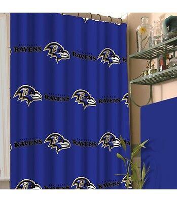 - Baltimore Ravens Shower Curtain