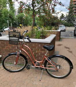 Townie Electra Bike Upgraded for Comfortable Riding