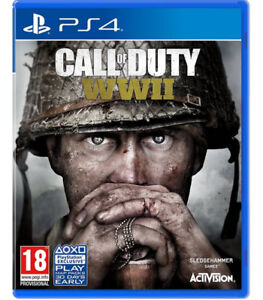 PS4 - Call of Duty WWII (World War 2) - Good condition