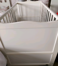 Toddler cot bed white Wayfair